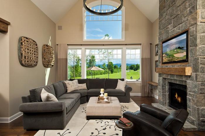 Dikd rtgen salon dekorasyon fikirleri ev resimleri for Home dizayn pictures