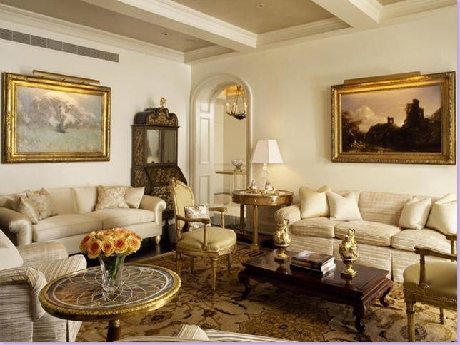 klasik ev dekorasyon örnekleri